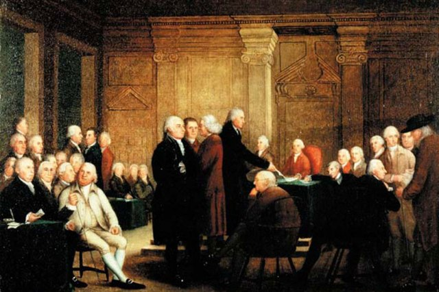 Drafting the Articles of Confederation, Continental Congress, 1781